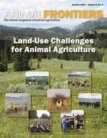 Land-use challenges for animal agriculture